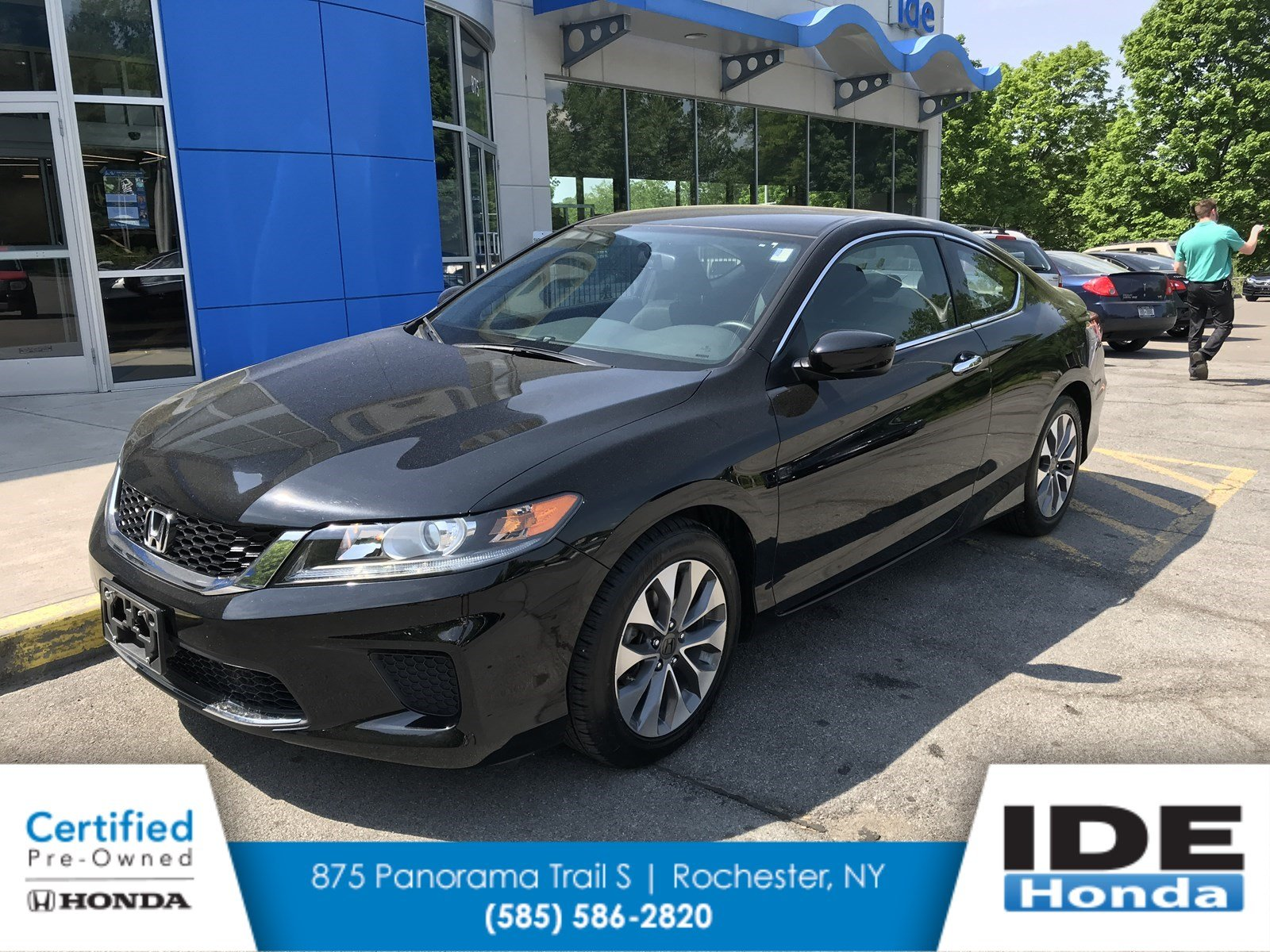 Certified Pre Owned 2015 Honda Accord Coupe LX S