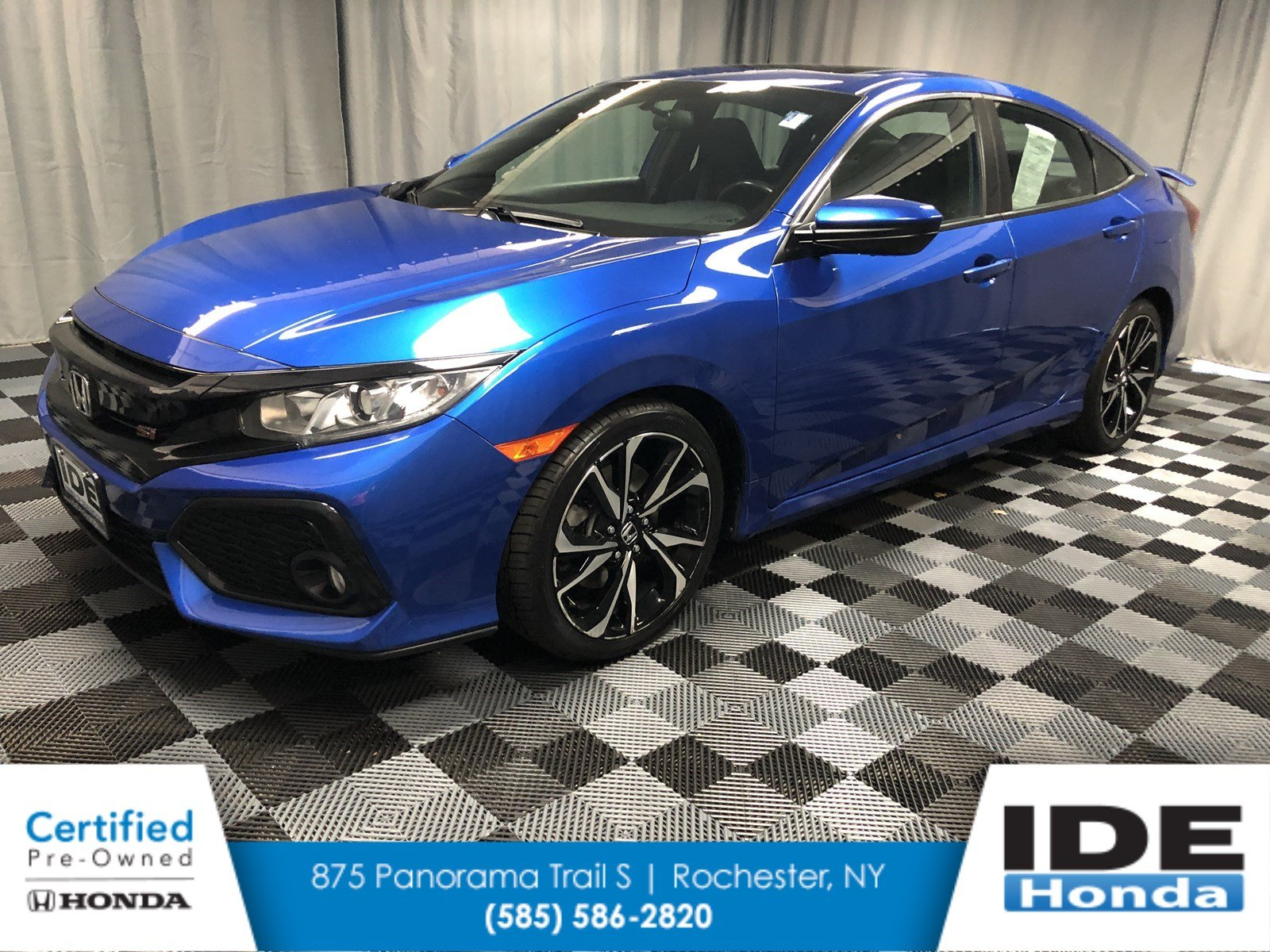 Certified Pre-Owned 2018 Honda Civic Si Sedan SI