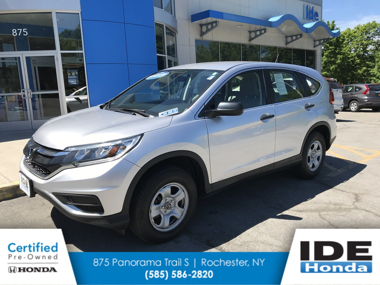 Awesome Certified Pre Owned 2015 Honda CR V LX