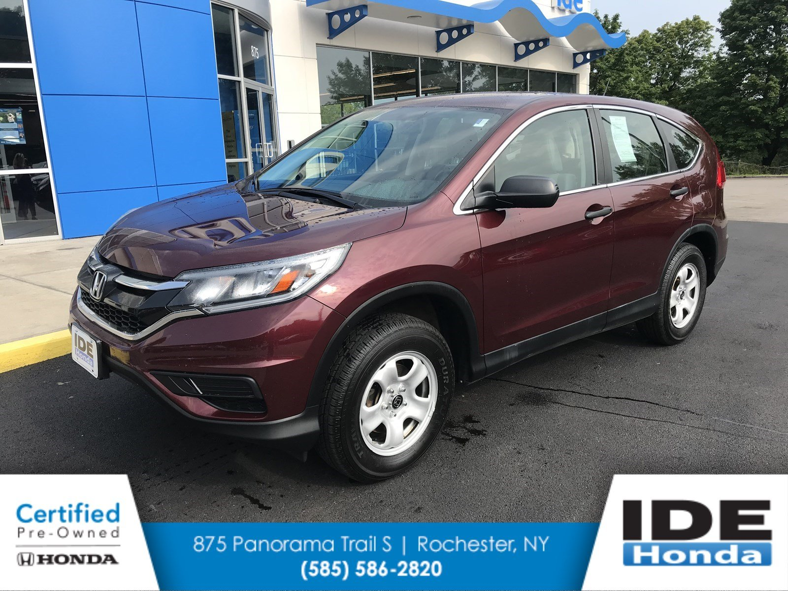 Superior Certified Pre Owned 2015 Honda CR V LX