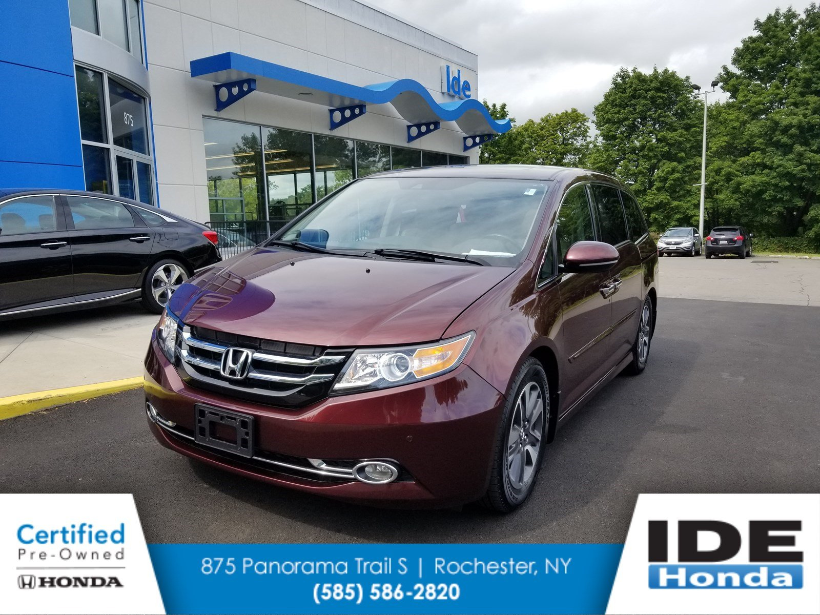 Certified Pre Owned 2015 Honda Odyssey Touring