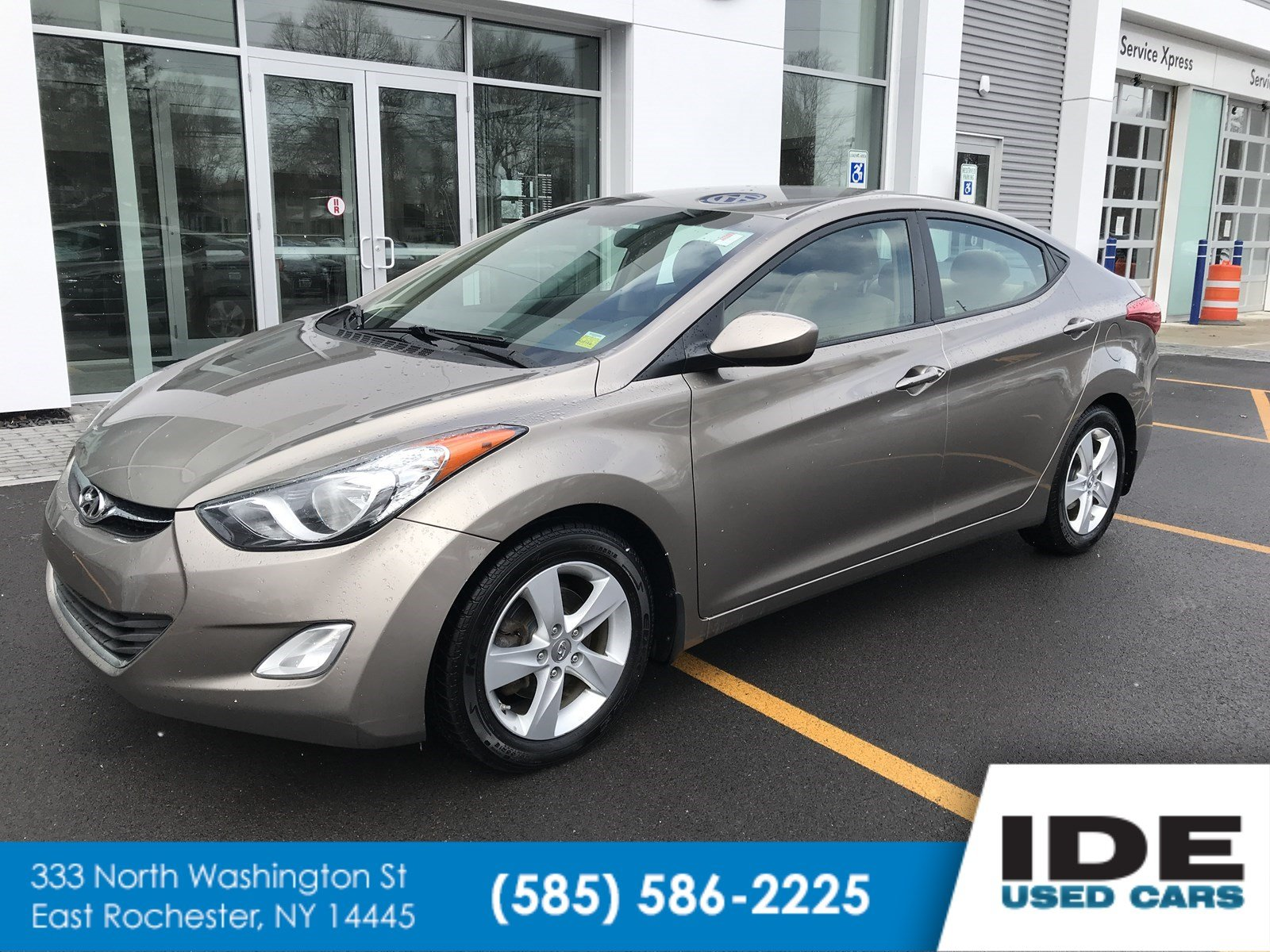 Pre Owned 2013 Hyundai Elantra GLS PZEV 4dr Car in Rochester UW2018