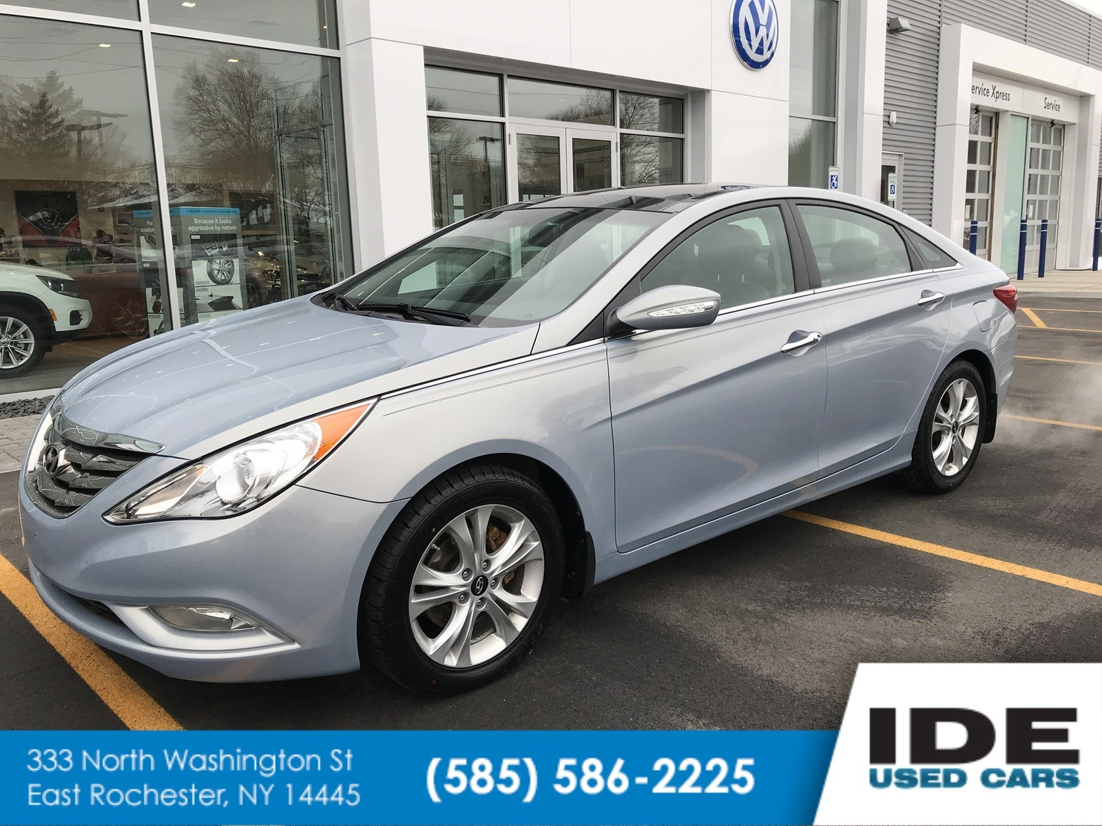 Pre-Owned 2012 Hyundai Sonata 2.4L Limited PZEV 4dr Car in Rochester ...