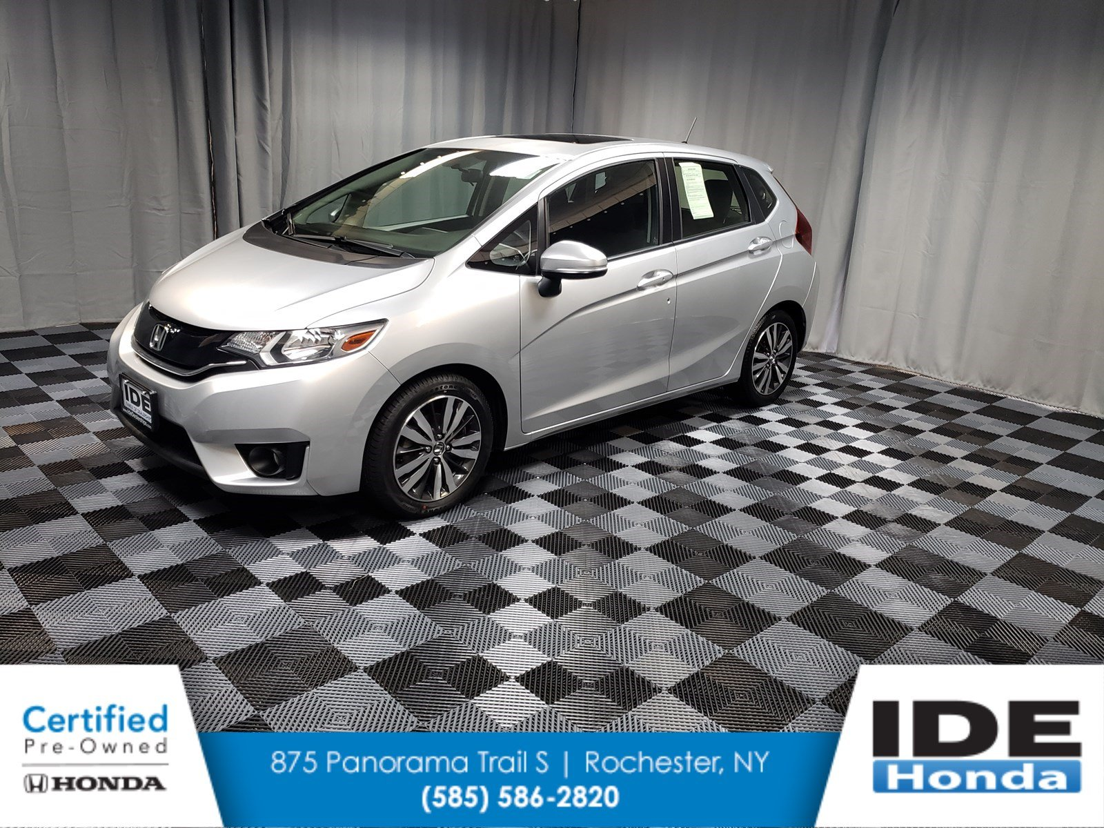 Certified Pre Owned 2016 Honda Fit Ex