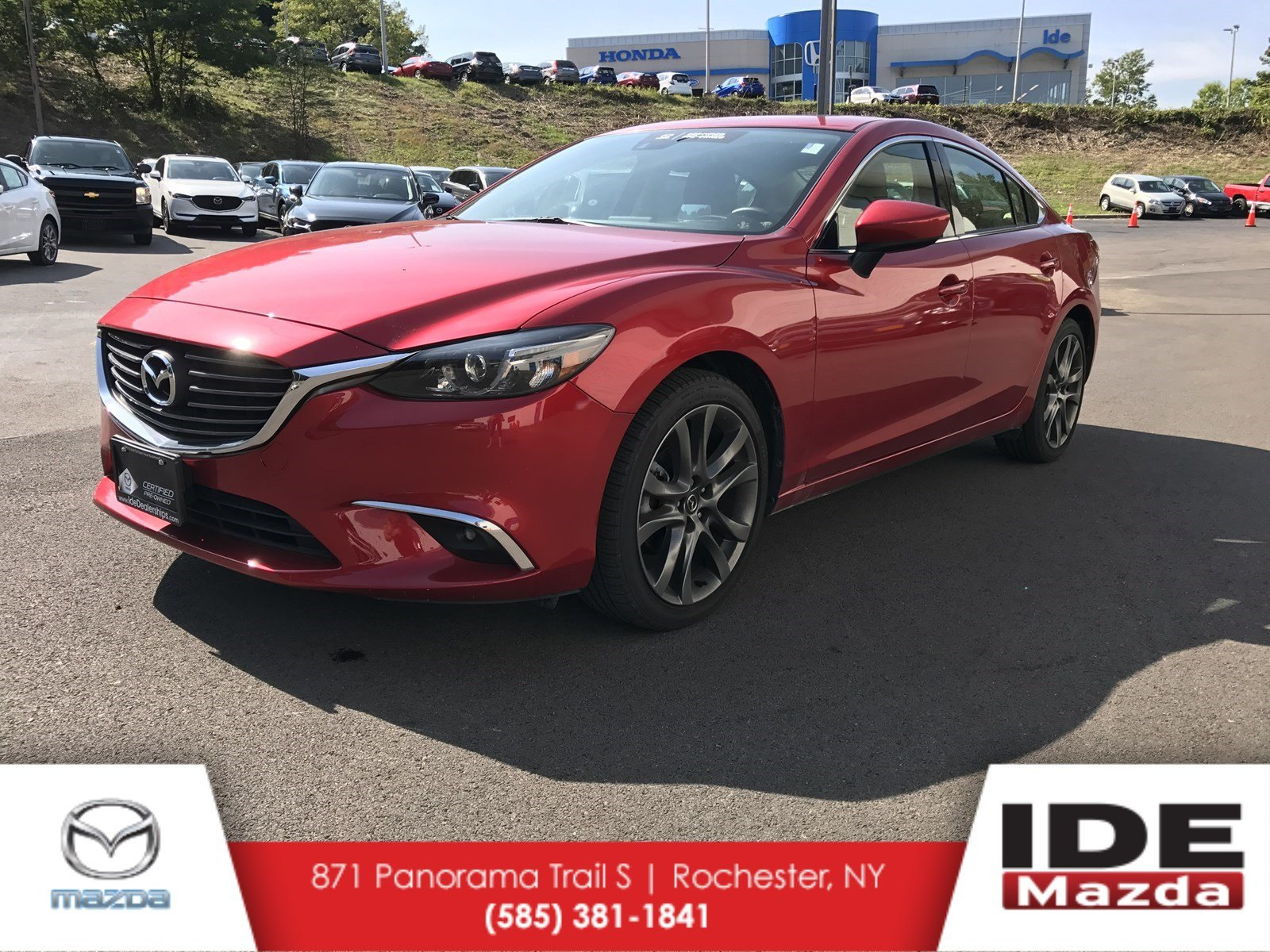 Pre Owned 2016 Mazda6 I Grand Touring