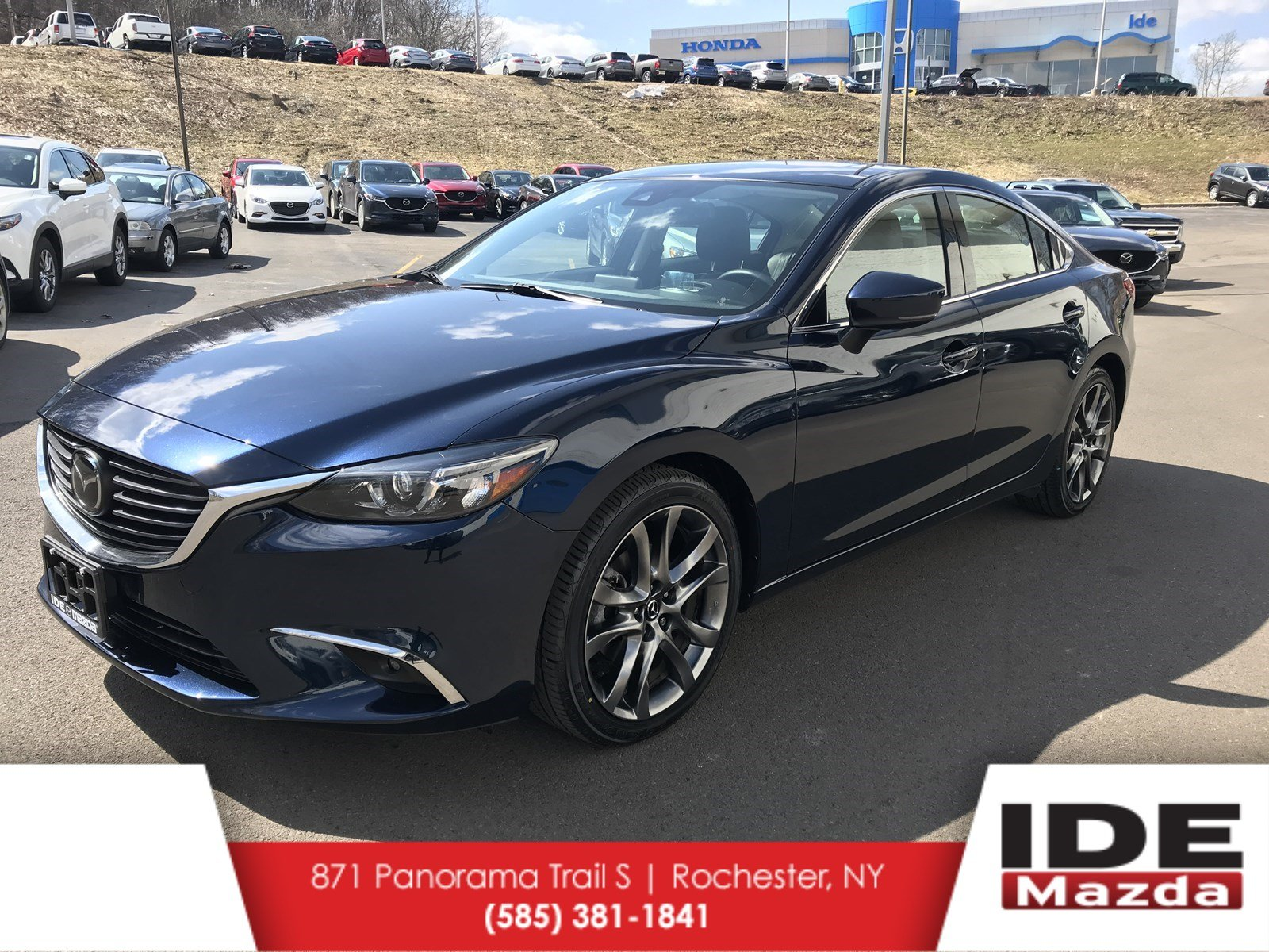Perfect Pre Owned 2017 Mazda6 Grand Touring