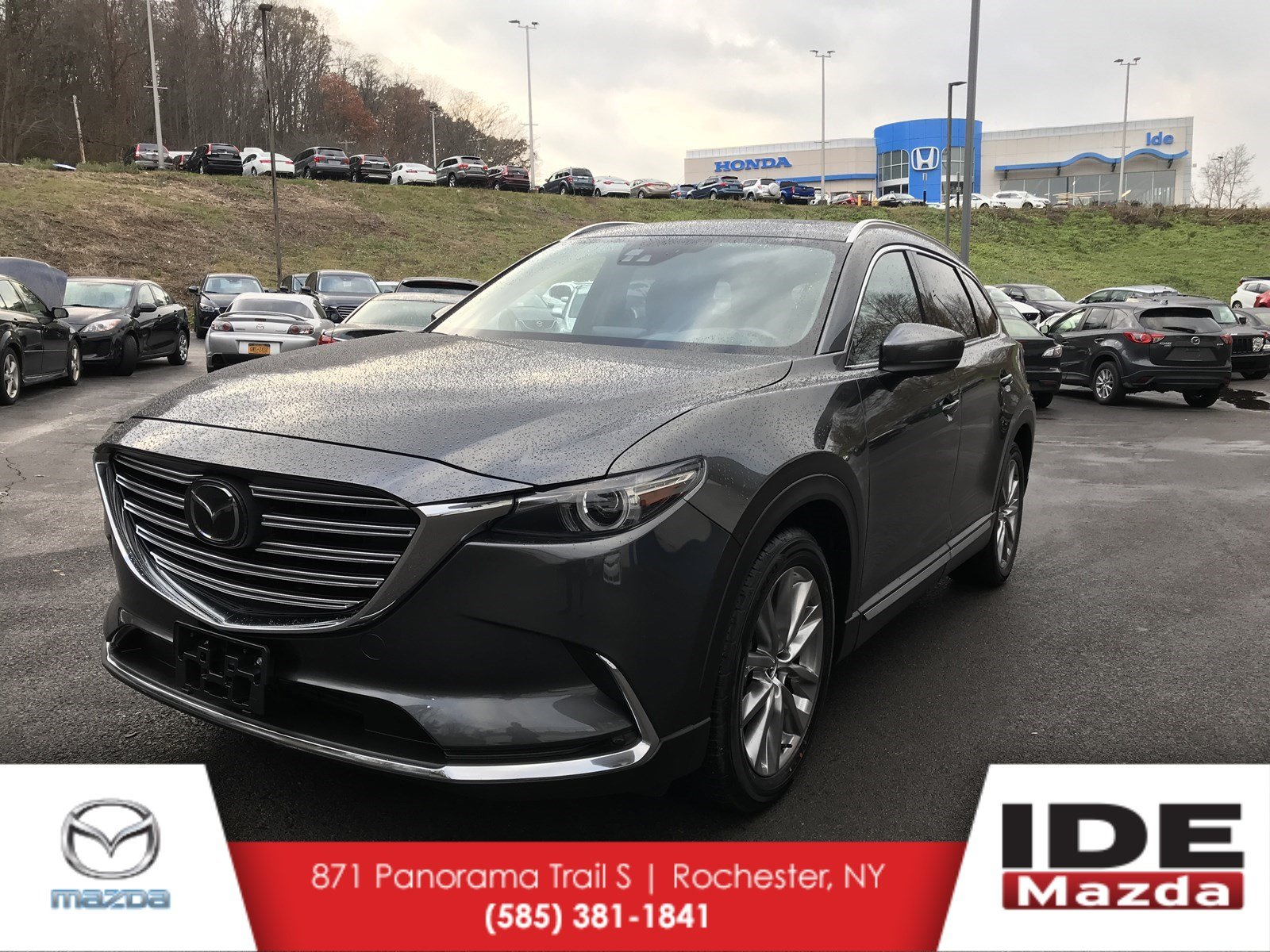 pre owned 2017 mazda cx 9 grand touring sport utility in rochester