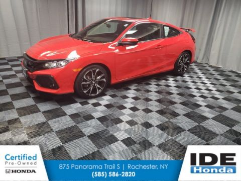 Certified Pre-Owned 2017 Honda Civic Coupe Si