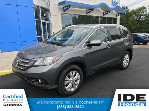 Certified Pre Owned 2013 Honda CR V EX L Sport Utility In Rochester #UH7373  | Ide Honda